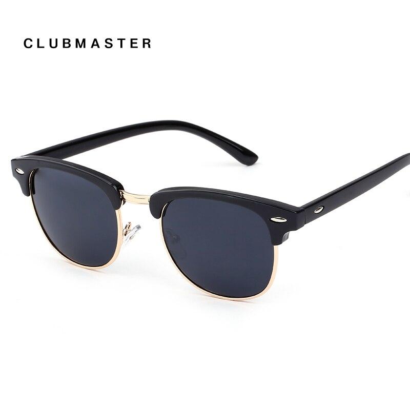Clubmaster retro sunglasses men women sun glasses