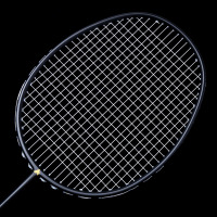 Newly Ultralight 6U Badminton Racket Professional Carbon Portable Free Grips Sports BF88