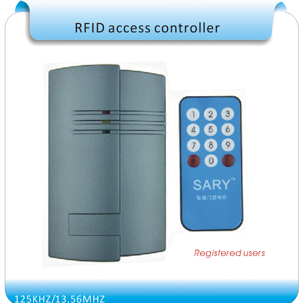 ФОТО Free shipping  125KHZ RFID access control system  /Building intercom  access board +10cards 122X76X22mm