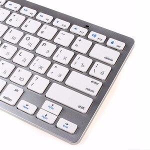 Image 5 - Kemile רוסית שפה אלחוטי Bluetooth 3.0 מקלדת עבור iPad tablet Bluetooth מקלדת עבור iPad 3 4 IOS מערכת מקלדת תפוח