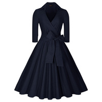 Belle Poque 2017 Pin Up Plus Size Women Clothing Summer Casual Party Office Gown Robe Ete