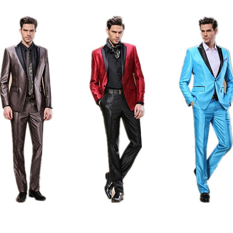 Aliexpress.com : Buy Men's groom tuxedo business suits gentleman ...