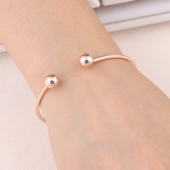 Adjustable Metal Cuff Bangle Bracelet