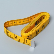 Clear Scale Sewing Ruler Measuring Cloth Tailoring Ruler measuring tape width 2CM, length 3M pro skit dk 2040 3m tpr durable blade measuring tape w magnetic end hood black