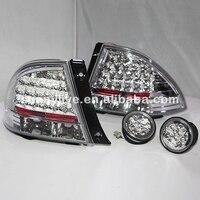 1998 2005 год светодиодные задние фонари хвост лампа для Lexus IS200 Chrome Корпус Цвет JY