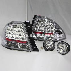 1998-2005 год светодиодные задние фонари хвост лампа для Lexus IS200 Chrome Корпус Цвет JY