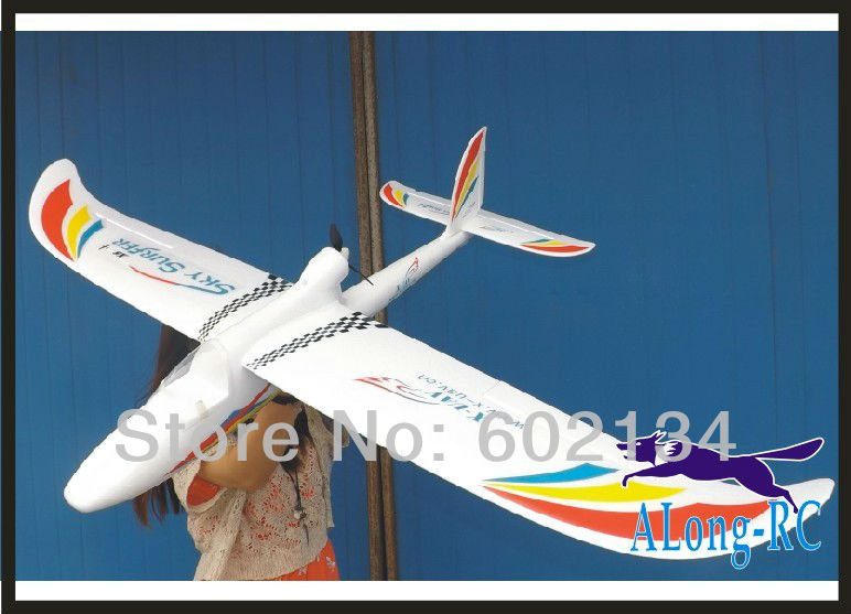где купить EPO plane/ RC airplane/RC MODEL HOBBY TOY GLIDER plane 4 channel plane WINGSPAN 1400MM SKY SURFER (KIT SET OR pnp set) по лучшей цене