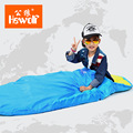 Hewolf Authentic male wolf children sleeping bag outdoor summer autumn warm outdoor camping sleeping bag students Lunch Bag