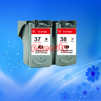 High quality PG 37 CL 38 ink cartridge for Canon IP1880 IP1900 IP2500 IP2600 MP140 MP190 MP210 MP220 MP470 MX300 MX310