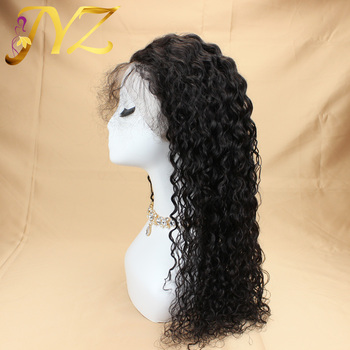 JYZ Curly 13x4 Brazilian Lace Front Human Hair Wigs With Baby Hair Lace Front Wig Remy Hair Wig Pre Plucked Bleached Knots re4u hair curly lace front human hair wigs ginger orange red 150 density lace front wig pre plucked bleached knots 13x4 13x6 wig