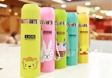 2015 Edelstahl Wasserflasche Insulated Tumbler Schöne Tier Muster Vakuum Thermoskanne Tasse Für Frauen Kinder wasserflasche