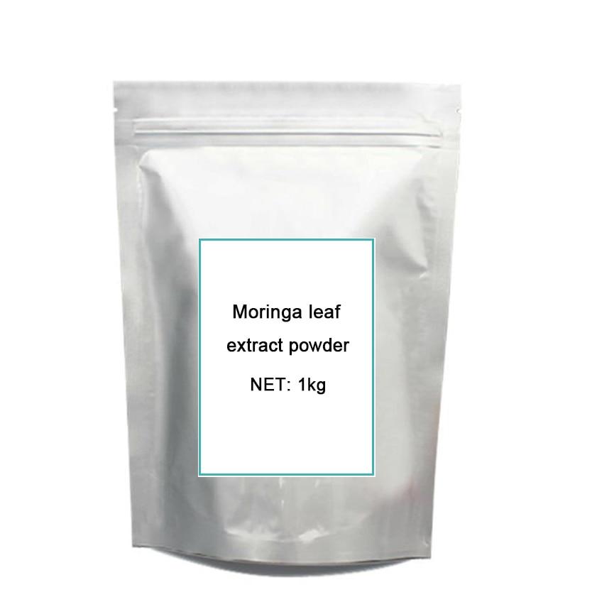 цена на 1kg Natural Organic Moringa leaf pow-der green pow-der 80 mesh Free shipping
