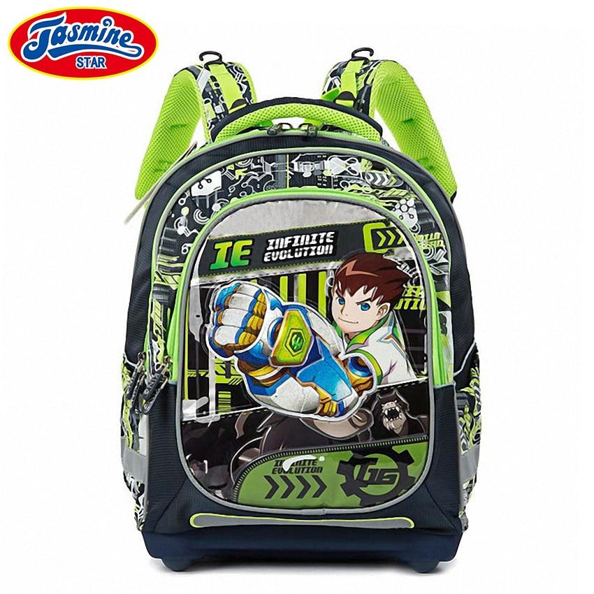 JASMINESTAR Boy font b Backpack b font Schoolbags New Children Cartoon Primary Student font b Backpack