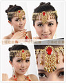 Acessórios de dança do ventre indiano acessórios de dança cabeça jóias acessórios bonita Oriental - cadeia colar de jóias vendas