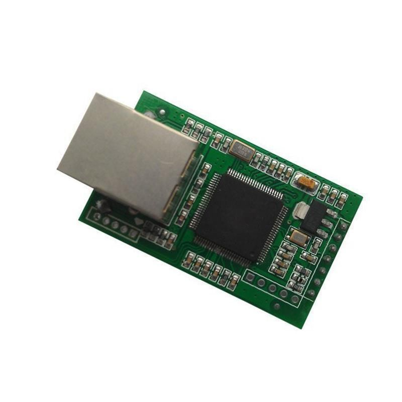 Dual serial RS232 TTL to Ethernet Converter TCP IP Module,PC TCP/IP socket hightek hk 8101d pro industrial tcp ip ethernet to rs232 rs485 rs422 converter ethernet to serial device server