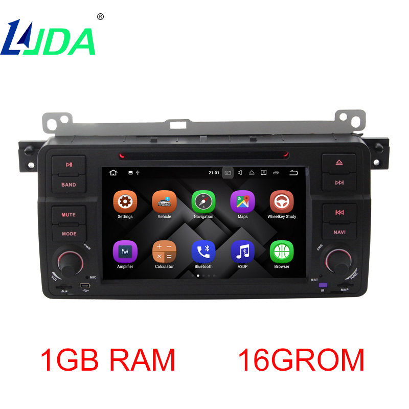 LJDA Android 7 1 1 Car DVD Player For BMW E46 M3 MG ZT 3 Series