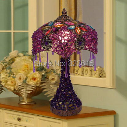 Table Lamp Purple-Koop Goedkope Table Lamp Purple loten van ...