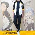 Re: Cero Isekai kara Hajimeru Seikatsu Subaru Natsuki Deporte de Cosplay Del Traje Del Anime de la historieta