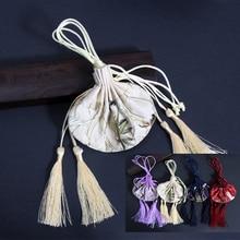 1 шт. ретро кран пустой мешок саше от комаров автомобильный шкаф подвеска в стиле династии Хан кошелек кулон