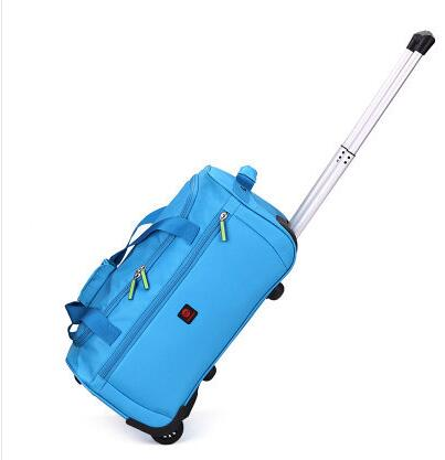 Oxford Cabin Travel Luggage Trolley Bag Waterproof Travel Trolley Luggage Suitcase Travel Bags On Wheel Wheeled Rolling Bags
