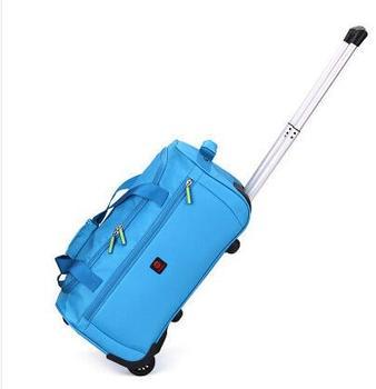 Oxford Cabin Travel Luggage Trolley Bag Waterproof Travel Trolley luggage suitcase Travel bags on wheel wheeled Rolling Bags