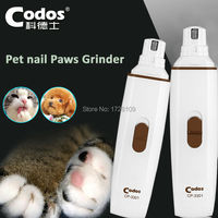 Professional Codos CP3301 Dog Electric Claw Nail Grooming Tool Pet Nail Paws Grinder Clipper Auto Pedicure