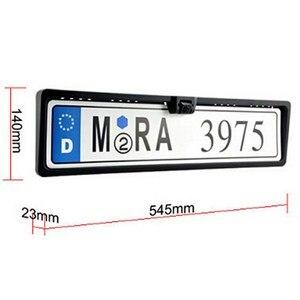 Image 2 - Trasporto Funching Auto Radar di Retromarcia Con 3 Sensori di LED di Visione Notturna Che Inverte Sensore di Parcheggio Impermeabile Rilevatore di Monitoraggio
