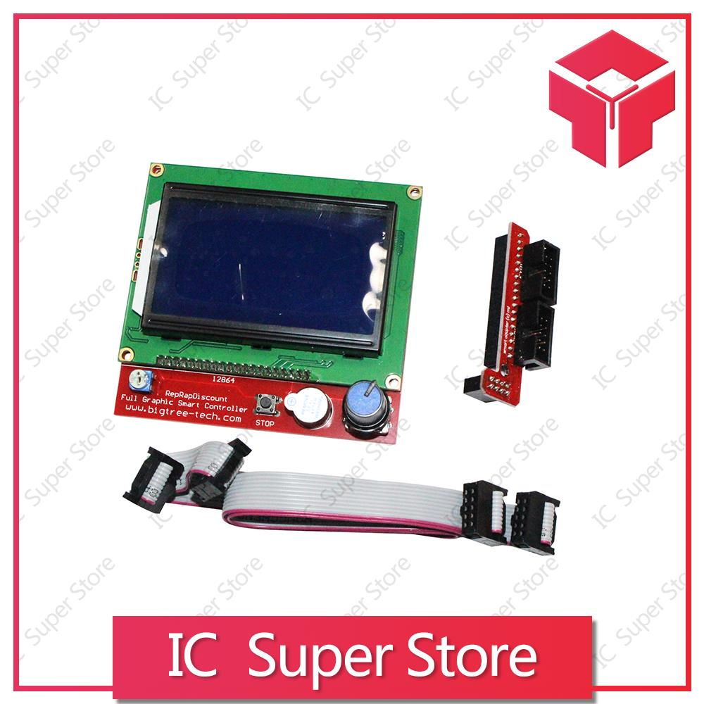 12864 LCD Ramps Smart Parts RAMPS Controller Display 1 4 LCD 12864 LCD Best  Quaitly
