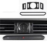 lsrtw2017 stainless steel car dashboard clock alarm buttom trims decoration for volkswagen passat B8 2016 2017 2018 2019