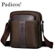 Padieoe мода мужская сумка crossbody сумка для мужчин повседневная мужская сумка почтальона сумочки высокое качество оксфорд сумка для мужчин