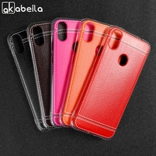 Soft TPU Leather Case For Oukitel C15 Pro Cases Anti-Knock Protective Housing Back Shell Bumper Bags
