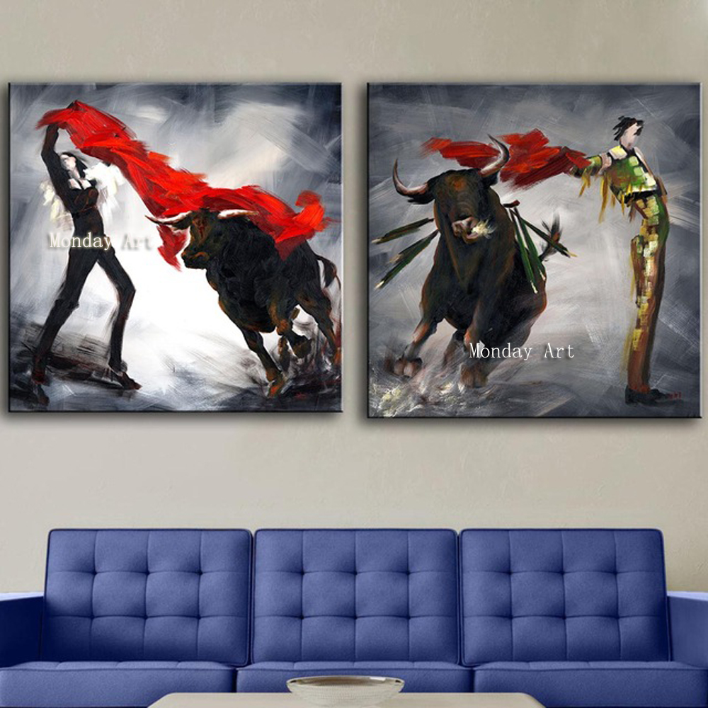 311 Wall-Art-2piece-Spain-s-great-show-Modern-living-room-top-wall-picture-for-home-decoration