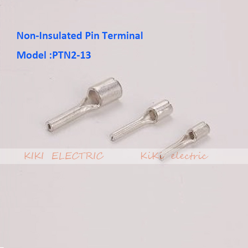 PTN2 13 Non Insulated Pin Terminal electric wire connectors/ cold ...