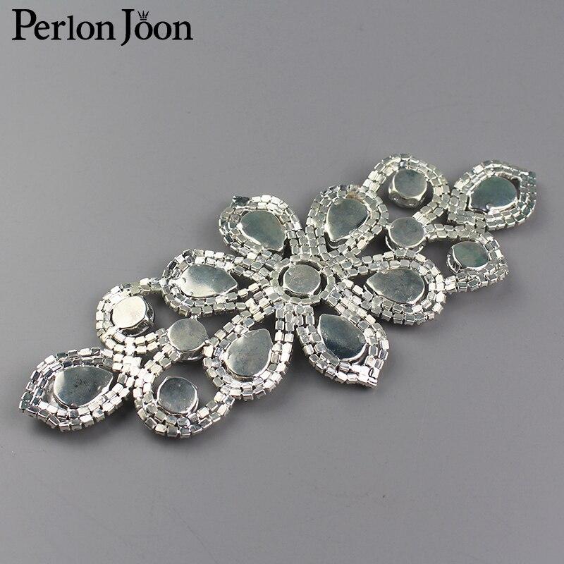 Diy Seam հագուստով Rhinestone Crystal Flowers Decoration - Արվեստ, արհեստ և կարի - Լուսանկար 5