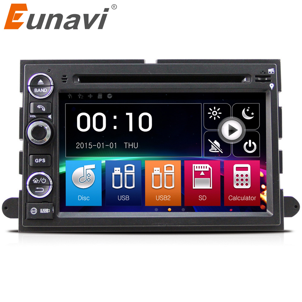Eunavi Car Dvd For Ford F150 Mustang Expedition Explorer Fusion 2006 2015 F 150 Navigation Radio 2007 2009 Gps Fm Am Bt Swc In Multimedia Player From Automobiles