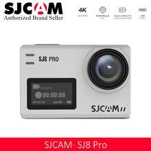 Акция! SJCAM SJ8 Pro Экшн-камера 1296P 4K 30fps/60fps Спорт DV пульт дистанционного управления шлем камера больше аксессуаров