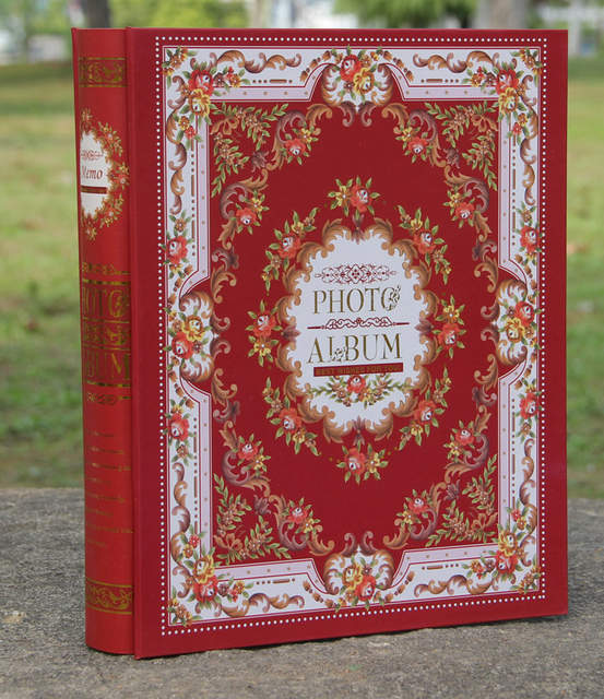 Online Shop Free Shipping 4d Large 6 Inch 200 Pages Photo Album