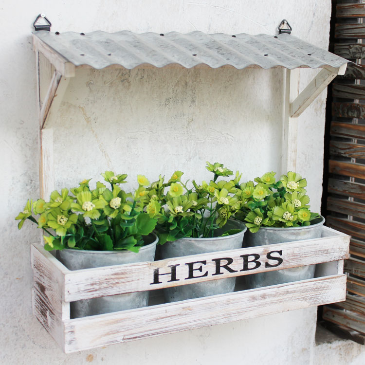 Compare Prices on Wood Hanging Planter- Online Shopping
