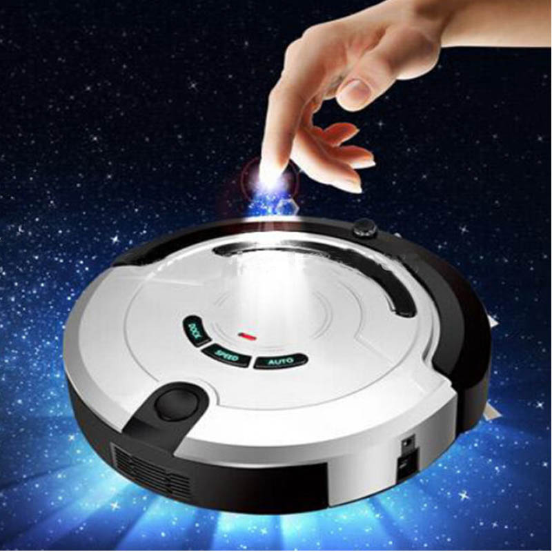 26W Intelligent Household Ultra-Thin Robot Smart Efficient Automatic Planned Type Vacuum Cleaner KRV209 automatic vacuum cleaner intelligent mute sweeping robot ultra thin dust collector efficient cleaner household gifts
