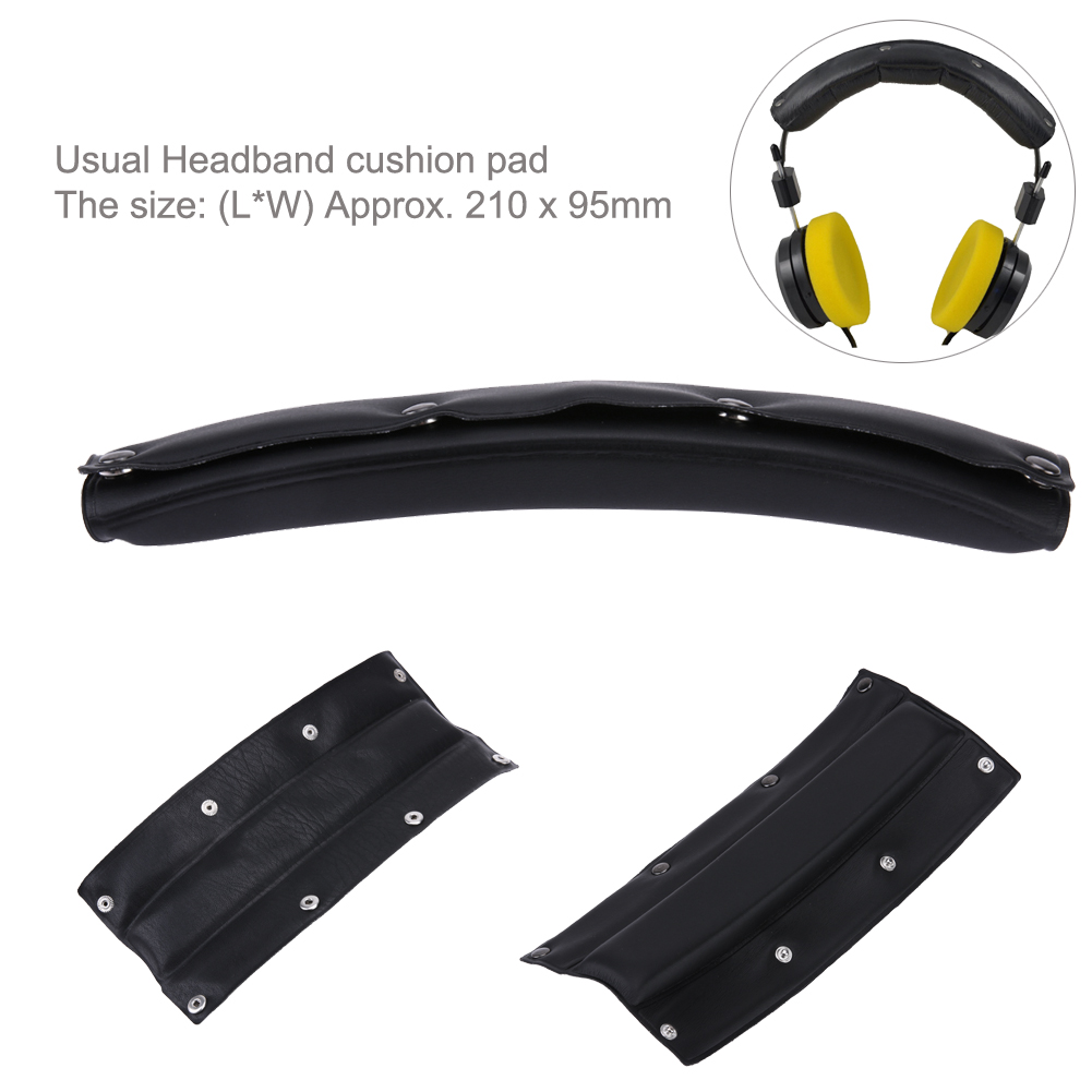 Black Comfortable Ear Headband Cushion Comfort pad for Beyerdynamic DT770-PRO for Sennheiser HD545 HD580 HD600 HD650 Headphones кабель publicity hd580 hd600 hd650