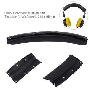 Black Comfortable Ear Headband Cushion Comfort pad for Beyerdynamic DT770-PRO for Sennheiser HD545 HD580 HD600 HD650 Headphones
