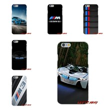 For iPhone X 4 4S 5 5S 5C SE 6 6S 7 8 Plus BMW Car M Logo Accessories Phone Shell Covers(China)