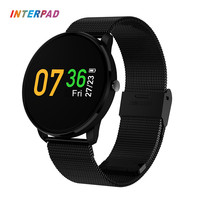 Interpad Smart Bracelet With Heart Rate Monitor Fitness Bracelet Waterproof Blood Pressure Tracker Smart Band For