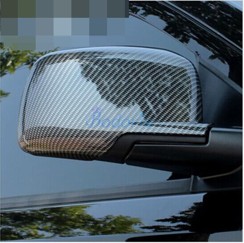Accessories For Dodge Journey JUCV Fiat Freemont 2009-2018 Door Mirror Overlay Rear View Cover Rearview Panel Chrome Car Styling