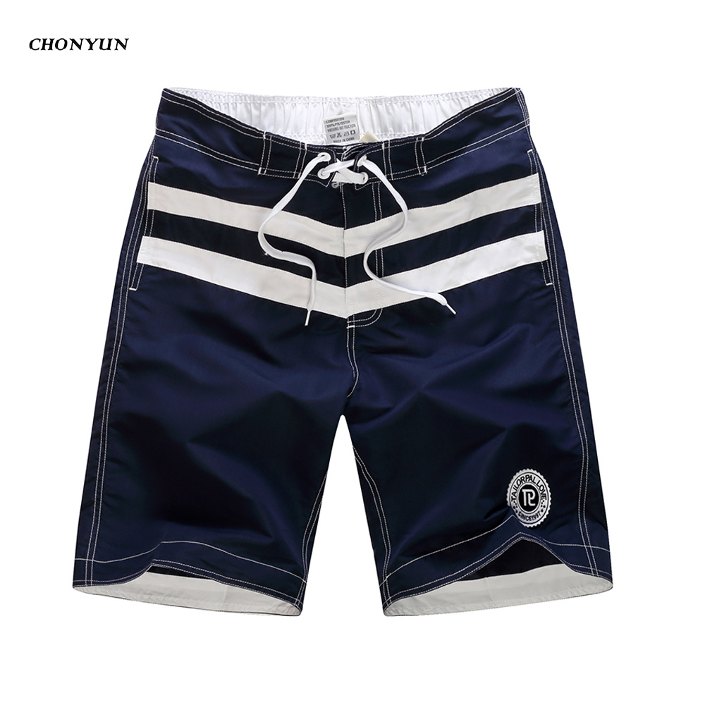New Summer Men's Swim Shorts Swimwear Surf Wear Board Shorts Bermuda Quick Dry Beach Boardshorts Trunks De Bain Homme 2019