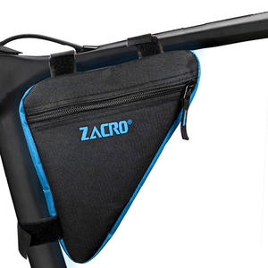 Zacro Frame-Holder Pouch Bicycle-Bags Front-Tube-Frame Bike Phone Triangle Waterproof