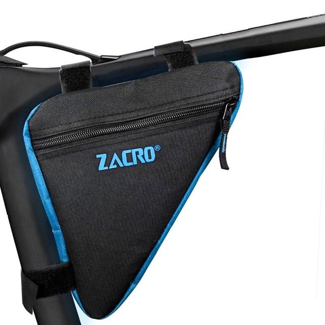 Zacro Sepeda Sepeda Bersepeda Tas Rangka Ponsel Tahan Air Tas Sepeda Segitiga Kantong Bingkai Pemegang Atribut Berfoto Aksesoris