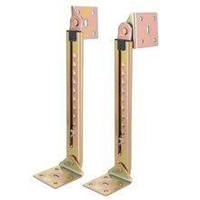1 par de barras de elevación de ángulo escritorio 10 engranajes de ajuste de bisagra ángulo bisagra con soporte
