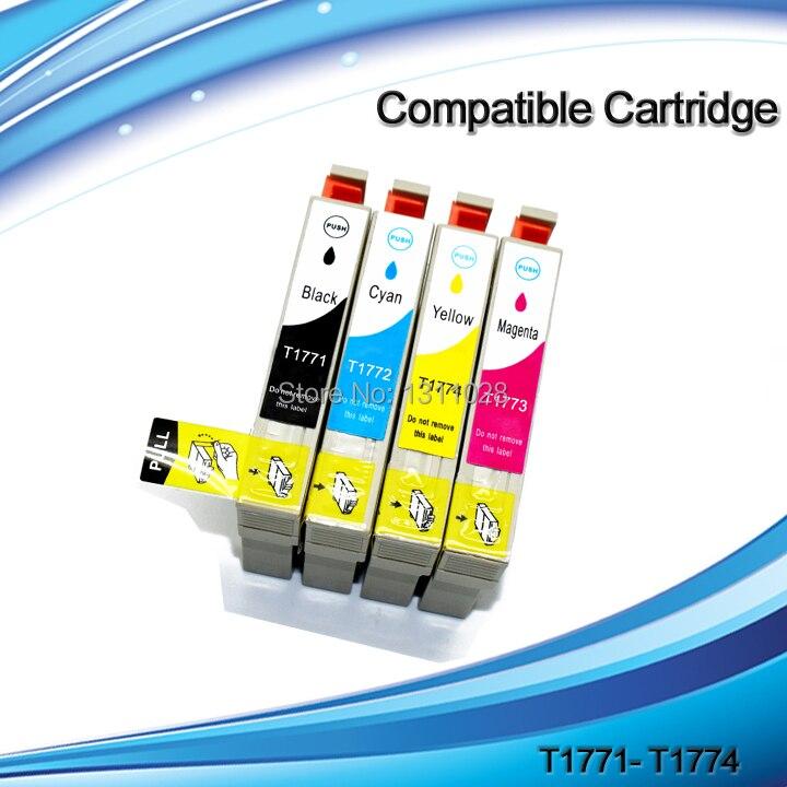 d860936d9 De manera T1771-T1774 conjunto completo cartucho de tinta para t1771 t1772  t1773 t1774 XP-30 XP-102 XP-202 XP-302 XP-402