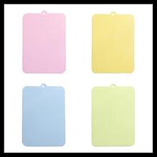 ElimElim Conjunto de 4, Bloques de Cortar Tabla De Cortar de Plástico de Calidad alimentaria para Carne Vegetal Fruta Herramienta de cocina Accesorios de Cocina